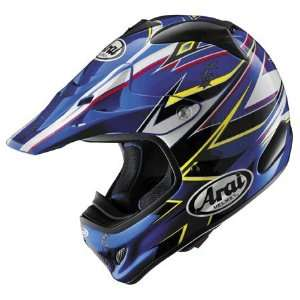 Arai VX Pro 3 Barbed Wire Full Face Helmet Large  Blue