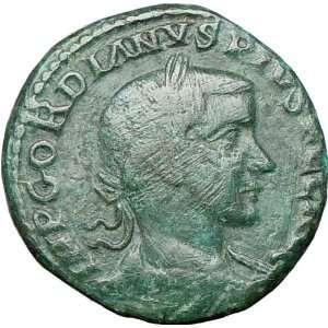 GORDIAN III 241AD Viminacium Large Ancient Roman Coin City
