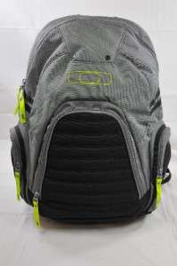 BACKPACK 2.0 SHEET METAL POLYESTER (OAK1) GREY/BLACK/LIME GREEN