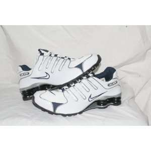 Nike Shox NZ White/Blue/Grey Men Size 10: Sports