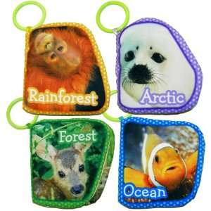 SoftPlay Baby Animals of the World Soft Cloth Book Baby