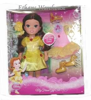 Disney Princess BELLE My Friend Gift Set 14 Doll NEW