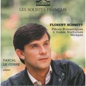 Schmitt Pieces Romantiques, Trois Valses Nocturnes