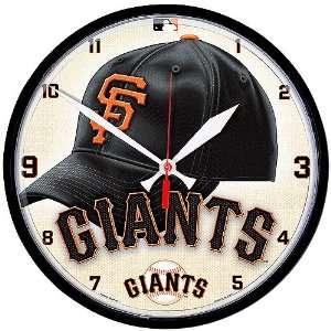 MLB San Francisco Giants Round Clock