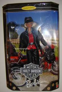 Barbie Harley Davidson Barbie Doll #1 Blonde Doll NRFB Limited Edition