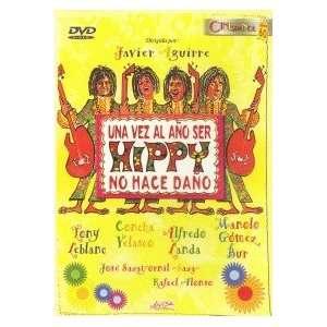UNA VEZ AL ANO SER HIPPY NO HACE DANO [Non USA DVD format PAL, Region