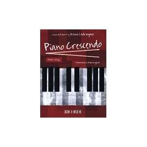 Piano Crescendo easy piano Books