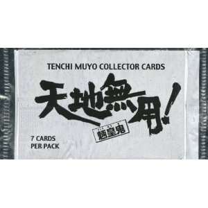 Sealed Pack of Tenchi Muyo Trading Cards 7 Cards (2000