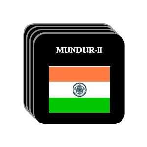 India   MUNDUR II Set of 4 Mini Mousepad Coasters
