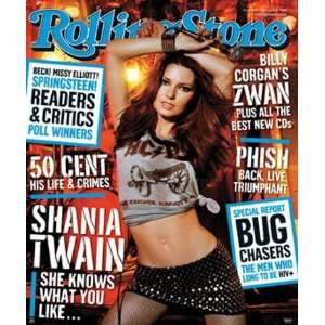 Shania Twain Country Music Poster