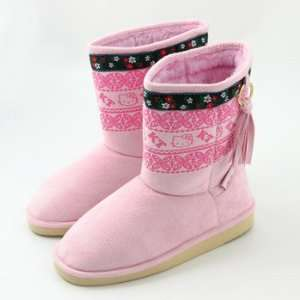 Hello Kitty Boots Pink Women size 7 to 8 Toys & Games