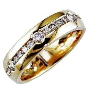 Jewelry Castle 3 2204 MR 14KWG 9 Mens Diamond 14K Gold
