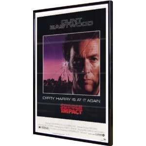 Sudden Impact 11x17 Framed Poster: Home & Kitchen