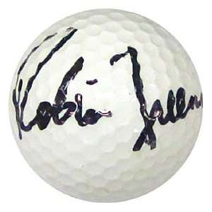 Robin Freeman Autographed / Signed Golf Ball Sports
