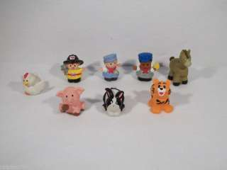Lot of Fisher Price Little People farm toys figures A