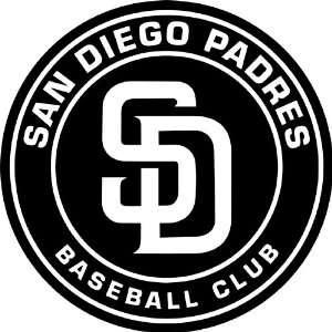 San Diego Padres MLB Vinyl Decal Sticker / 12 x 12