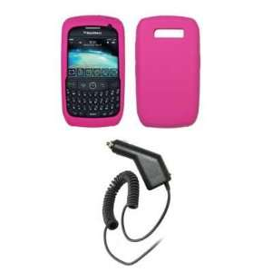 Premium Hot Pink Soft Silicone Gel Skin Cover Case + Generation X