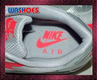 2011 Nike Air Max 90 x Hyperfuse HYP PRM us 8~12 Silver Grey Solar Red