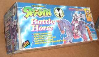 McFarlane Medieval Spawn Action Figure w/ Battle Horse