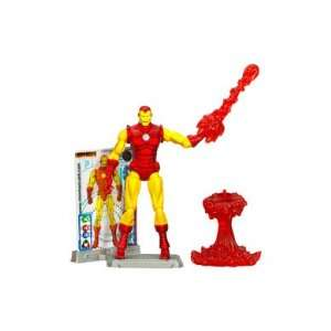 Hasbro Iron Man 2 Comic Series 4 Inch Action Figure   #26 Iron Man