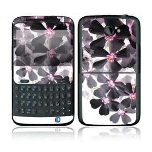 HTC Status / ChaCha Decal Skin Sticker   Asian Flower Paint