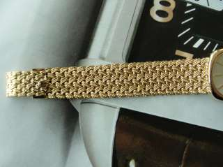 AUTHENTIC ROLEX WOMENS CELLINI 18K YELLOW GOLD 4305 MANUAL SERVICED