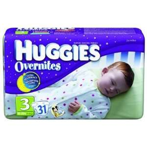 Huggies Overnites Diaper Quantity: Size 4   Casepack of 4