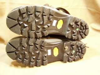 FILA Hiking Boots Vibram Soles Thinsulate 9 Mens Hike Mountain Trail