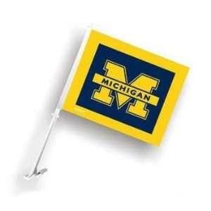 Michigan Wolverines Car/Truck Window Flag Sports