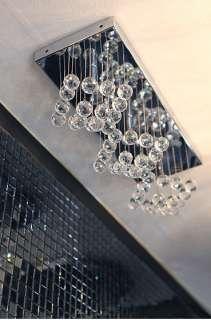 Luxury Crystal Ball Ceiling 3 Lights Fixture Pin Lamp Lighting Prizm