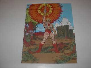HE MAN MASTERS OF THE UNIVERSE POSTER L@@K