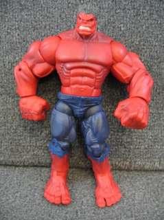 Marvel Legends RED HULK Build A Figure BAF Loose Hasbro 2008