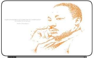 Martin Luther King Laptop Netbook Skin Decal Cover NEW