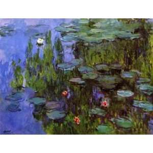 12X16 inch Claude Monet Impressionist Canvas Art Repro Sea