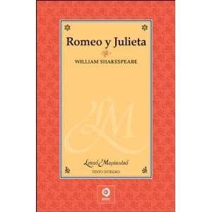 Romeo y Julieta (Letras mayusculas) (9788497649155