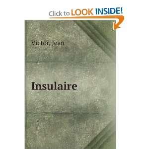 Insulaire Jean Victor Books