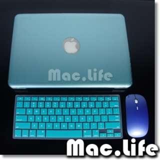 SALE T Macbook PRO 13 Hard Case +Keyboard Skin+Mouse