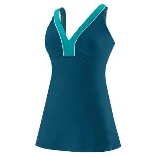 Speedo Womens V Neck Swim Dress   Speedo Endurance+