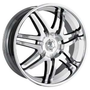 Ion Alloy 197 Chrome Wheel (22x9.5/6x139.7mm) Automotive