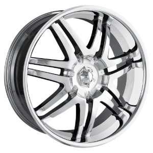 Ion Alloy 197 Chrome Wheel (22x9.5/6x139.7mm) Automotive