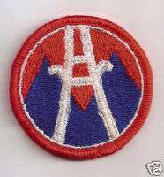 US ARMY 2nd Logistical Command Patch