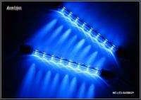 B03BB2P 2 8 LED Blue Beam Moonlight Bar Light Power