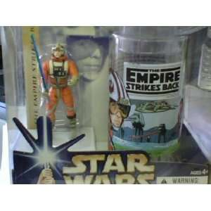 Star Wars Luke Skywalker Action Figure and Cup Toys
