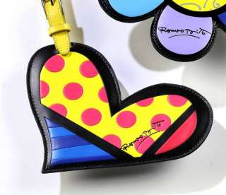 ROMERO BRITTO HEART LUGGAGE / BACKPACK ID TAG