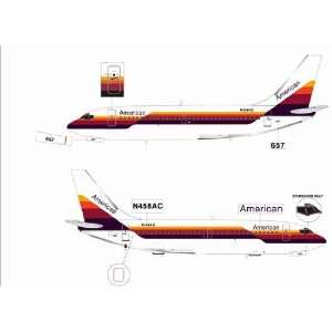 Jet X 1200 American 737 200 Model Airplane Everything