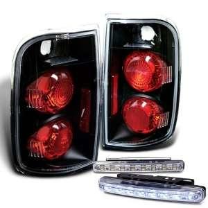 1995 2004 Blazer Jimmy Tail Lights Lamps + LED Bumper Fog Automotive