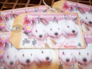 SOME BUNNY LOVES YOU HANG / GIFT TAGS (286)