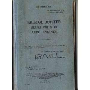 Jupiter VIII   IX Aircraft Engine Maintenance Manual Bristol Jupiter