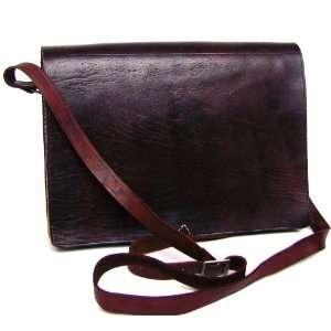Handmade Leather Messenger Bag Briefcase