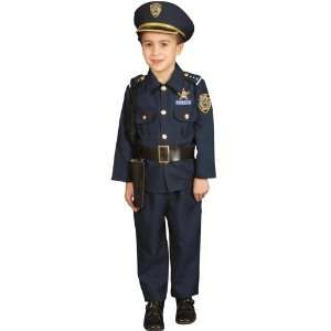 Officer Costume Child Small 4 6 Law Enforcement Uniforms Toys & Games